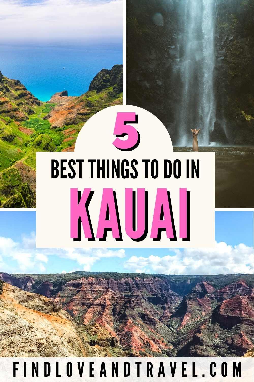5 Best things to see in Kauai, Hawaii