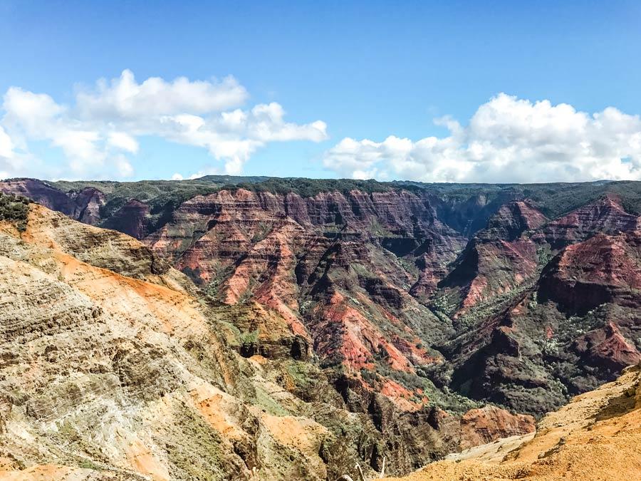 Kauai, Hawaii grand canyon Waimea Canyon