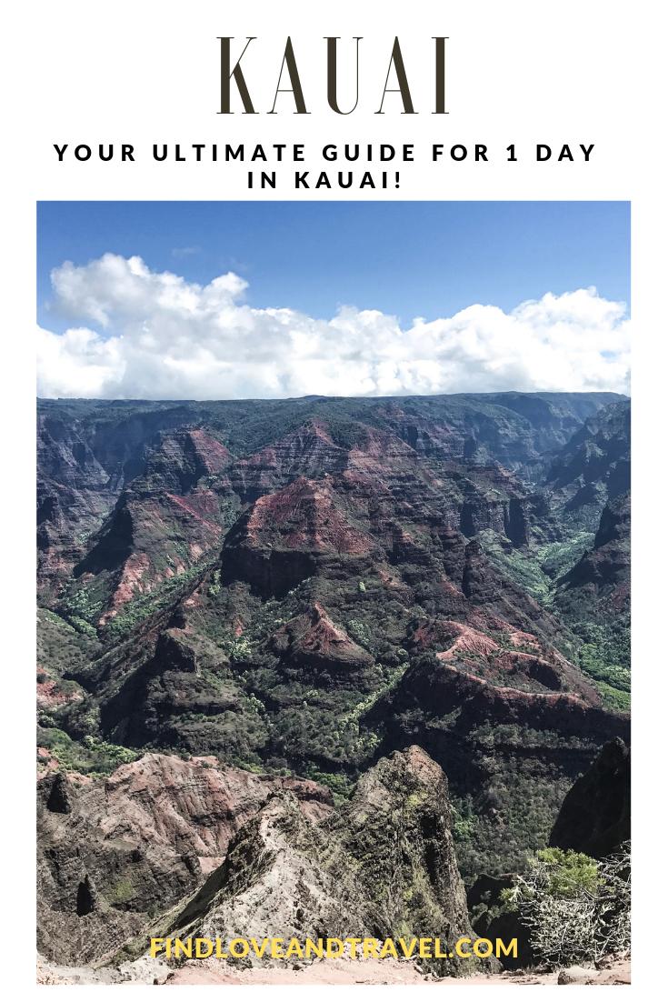 kauai hawaii grand canyon