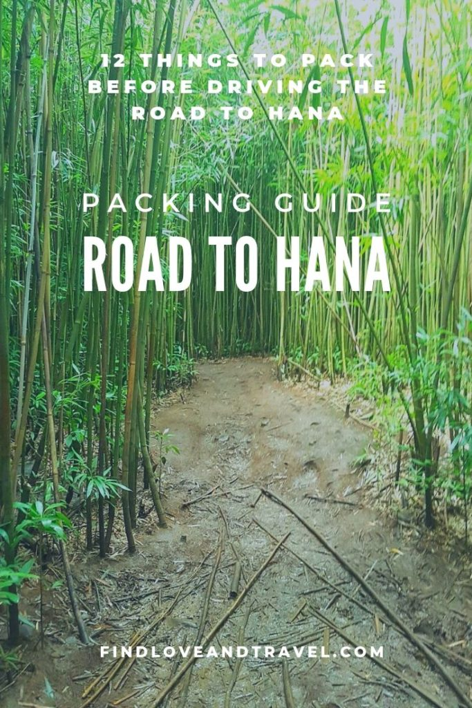 packing guide road to hana