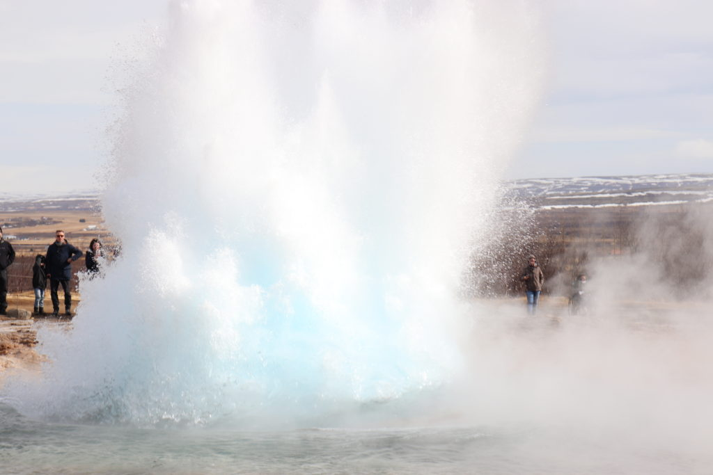 Make sure to see the Geysir when driving the Golden Circle