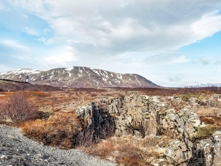 Þingvellir National Park in Iceland's Golden Circle