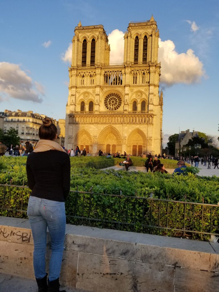 When visiting Paris, you must see Norte Dame! Make sure to add this to your Paris Travel Itinerary!