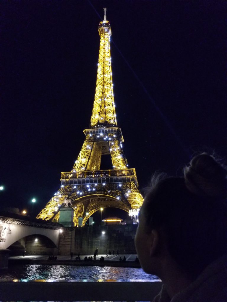 One of the top 10 attractions to do in Paris is see the Eiffel tower sparkling at night! Make sure to add this to your 5 days in Paris itinerary!