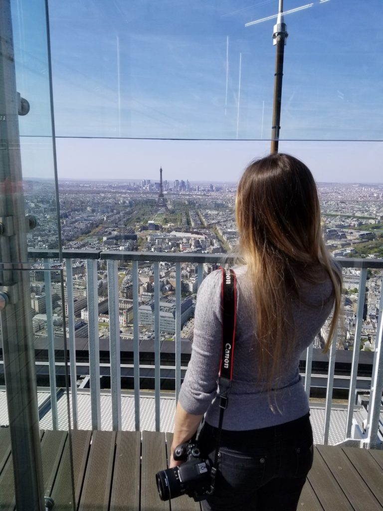 Don't forget to check out the views from the top of the Tour Montparnasse giving you an entire 360 degree view of Paris!