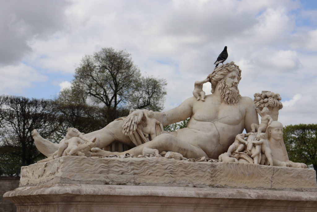 Find beautiful artwork at the Tuileries Gardens located right by the Louvre in Paris!
