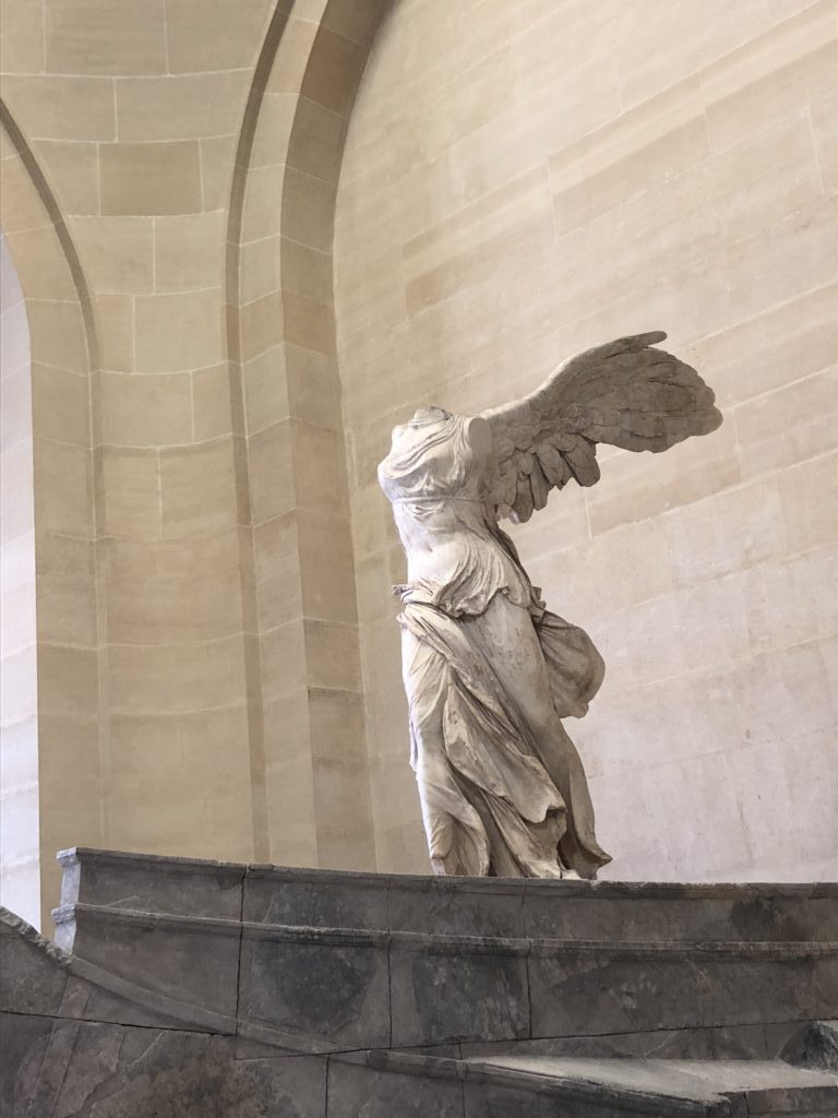 View the Winged Victory of Samothrace inside the Louvre in Paris!