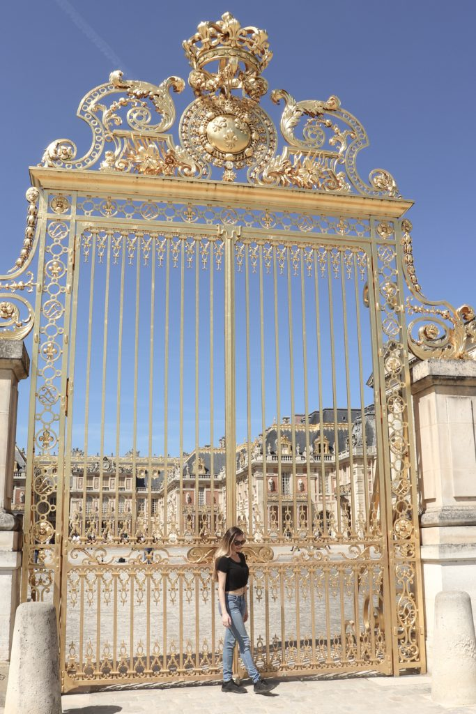 Versailles Gates Paris - 6 Paris photo worthy places