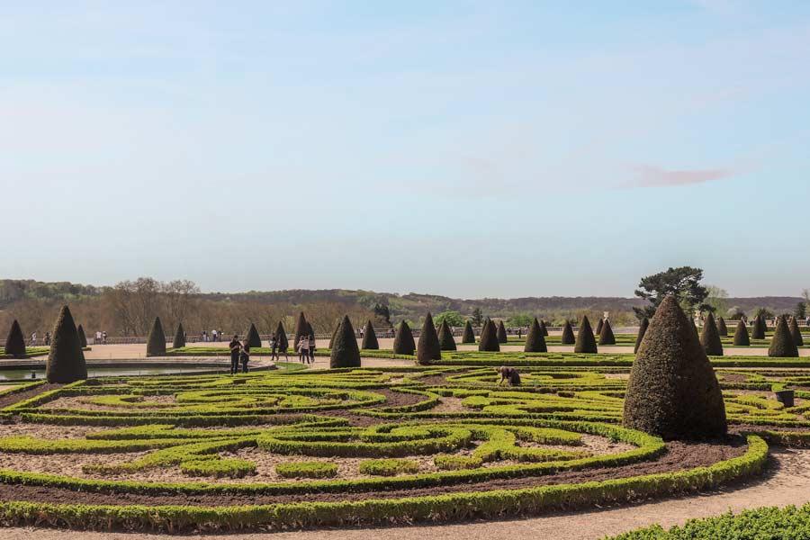 Versailles gardens in Paris is a top attraction.