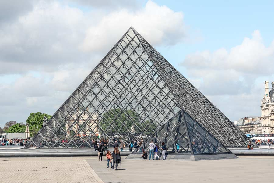 The louvre Museum in Paris is a top attraction.