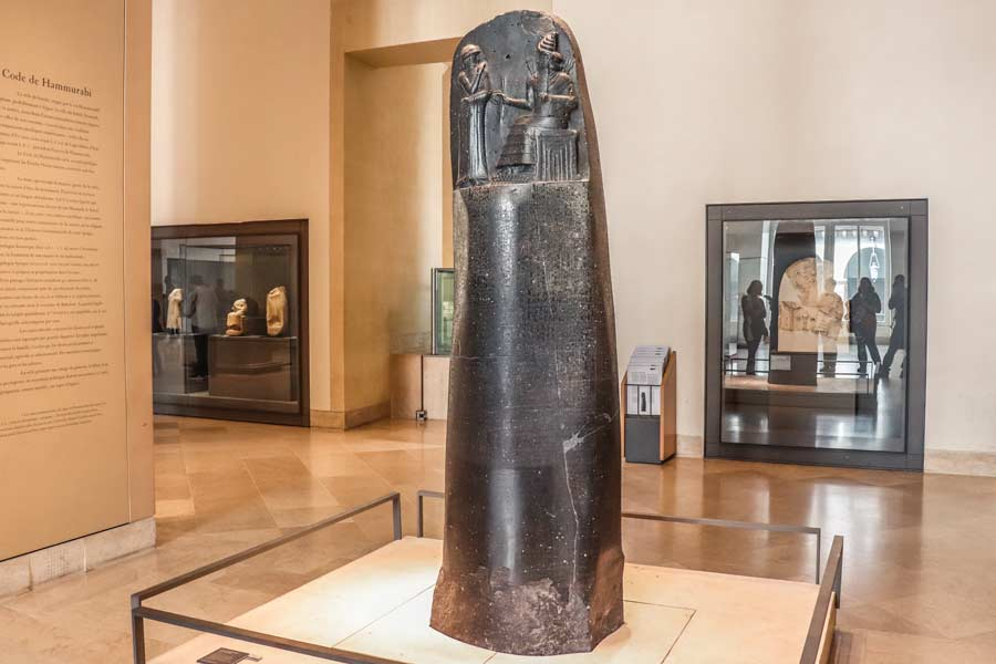 Code of Hammurabi Paris Louvre