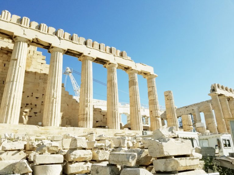 Make sure to visit the Acropolis with 4 days in Athens