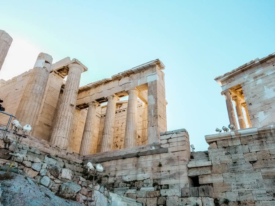 Seeing the Acropolis is one of the best things to do in Athens Greece
