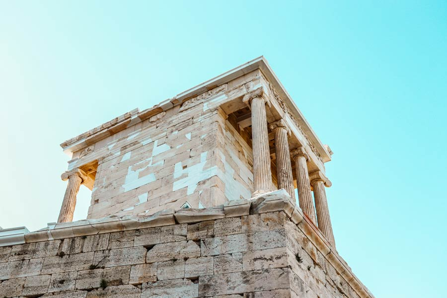 Make sure to see the Acropolis with 4 days in Athens Greece