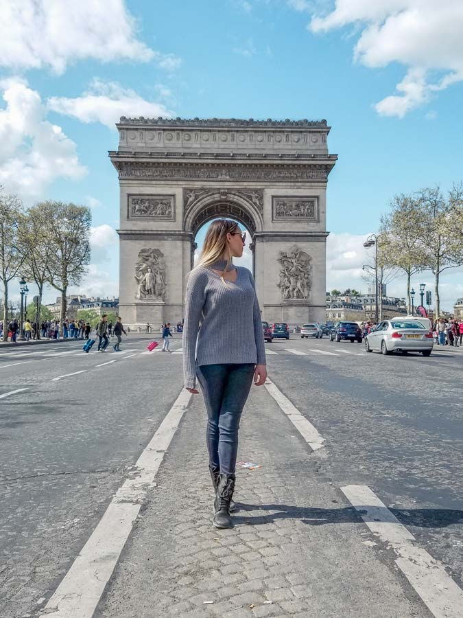 Arc de Triomphe should be on any itinerary with 5 days in Paris.
