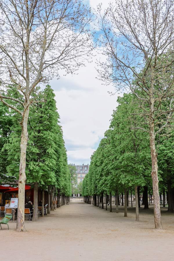 Jardin des Tuileries Gardens in Paris is very Instagrammable