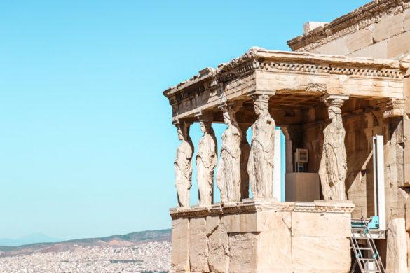 Erecthion Temple Acropolis Athens