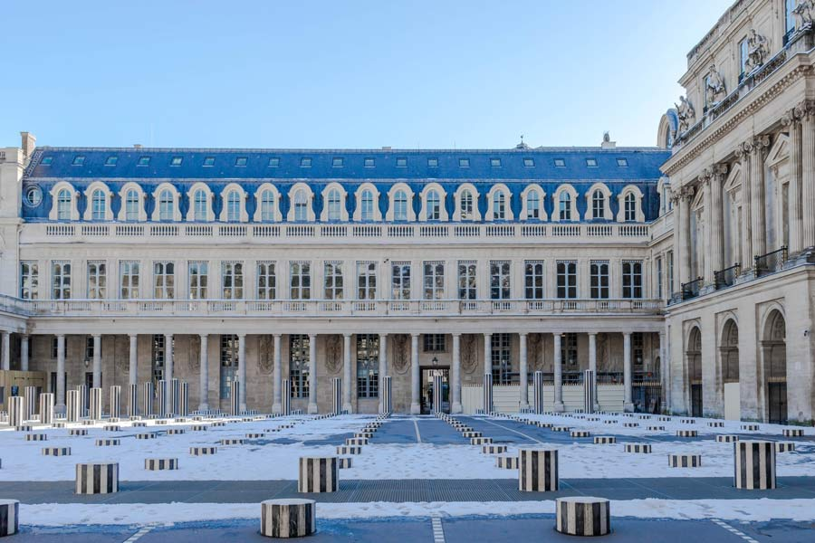 Palais Royal Paris photo worthy spot