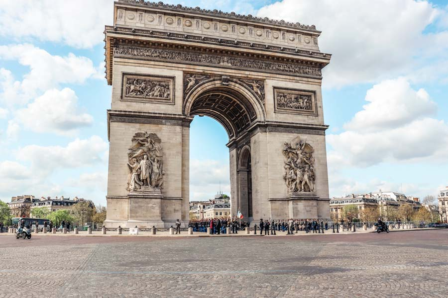 Arc de Triomphe is a top attraction to visit with 5 days in Paris