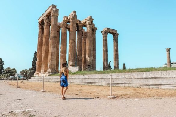 Visit the Temple of Zeus with 4 days in Athens