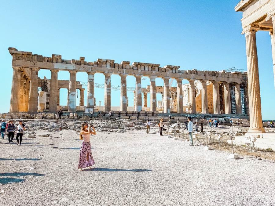 Athens Acropolis temples