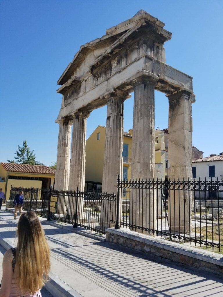 The Gate Roman Agora. For more Athens inspiration, check out my detailed guide for 4 days in Athens, Greece!