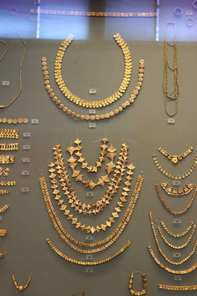 Jewelry from Athens museum