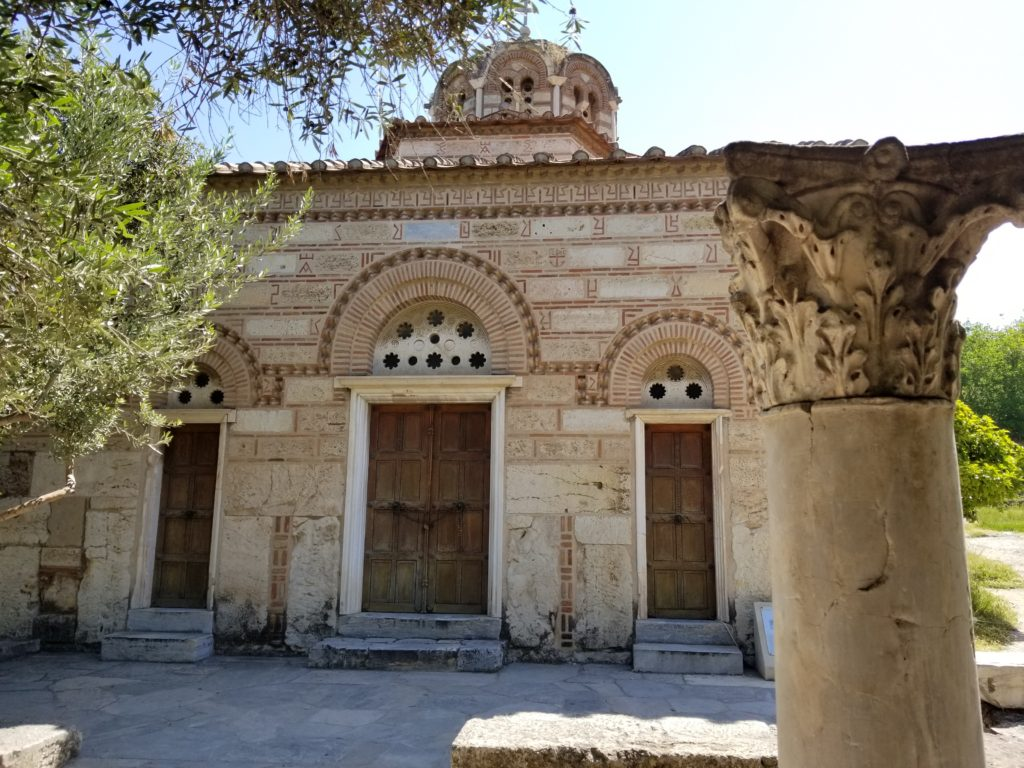 Church of the Holy Apostles in Athens