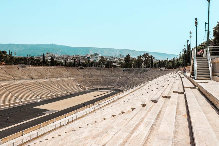 Panathenaic Stadium in Athens Greece
