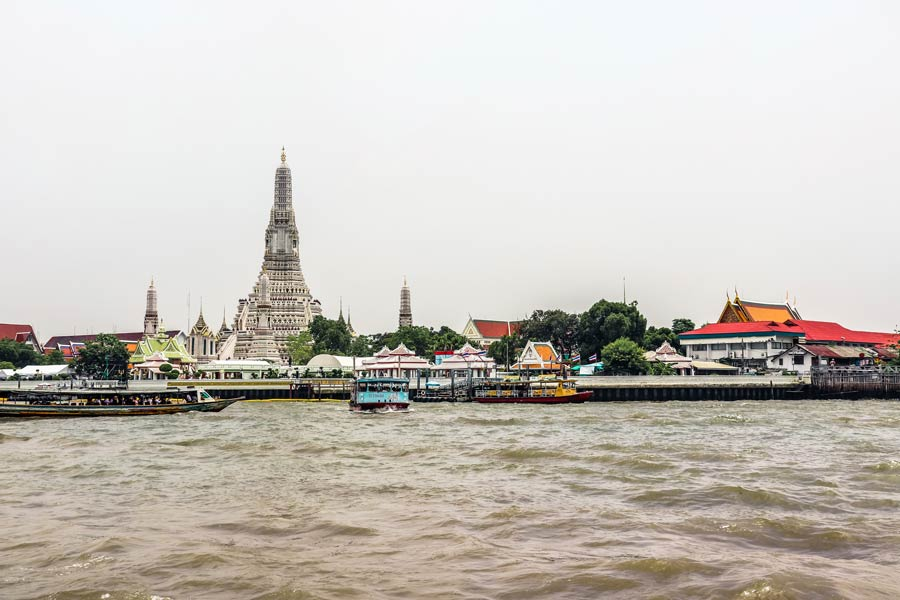 Wat Arun across the river