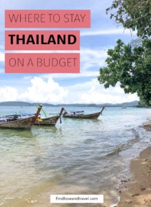 Find out where to stay in Thailand on a budget. This includes includes Bangkok, Chiang Mai and Krabi.