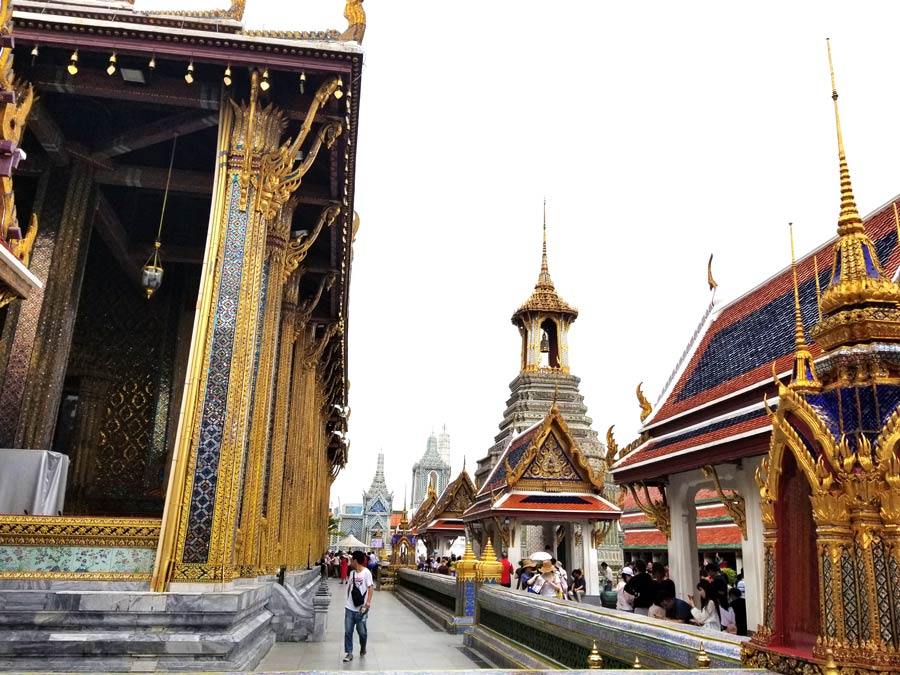 Top 3 temples to see in Bangkok include the Grand Palace