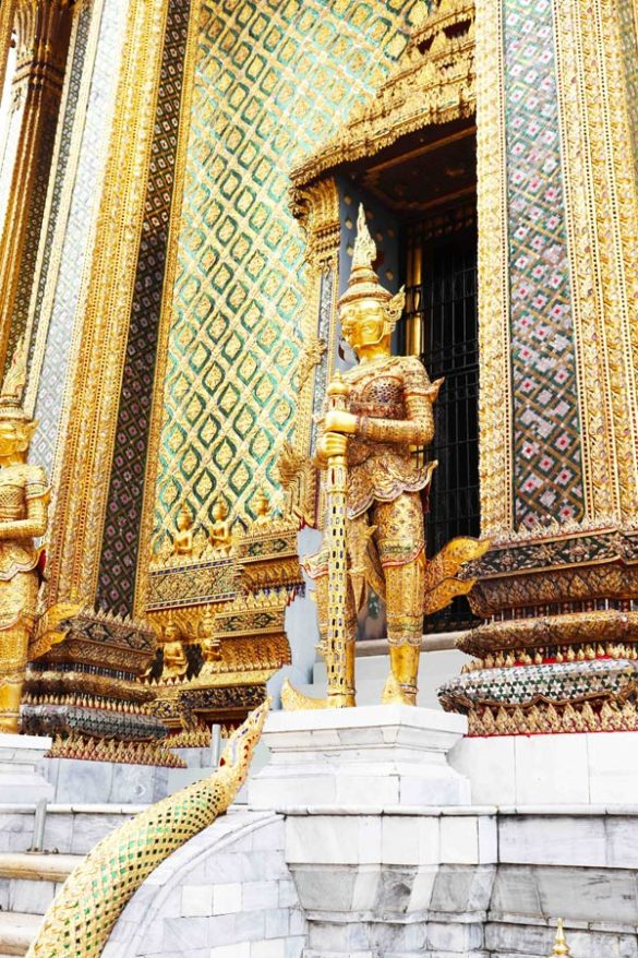 Grand Palace Temple in Bangkok