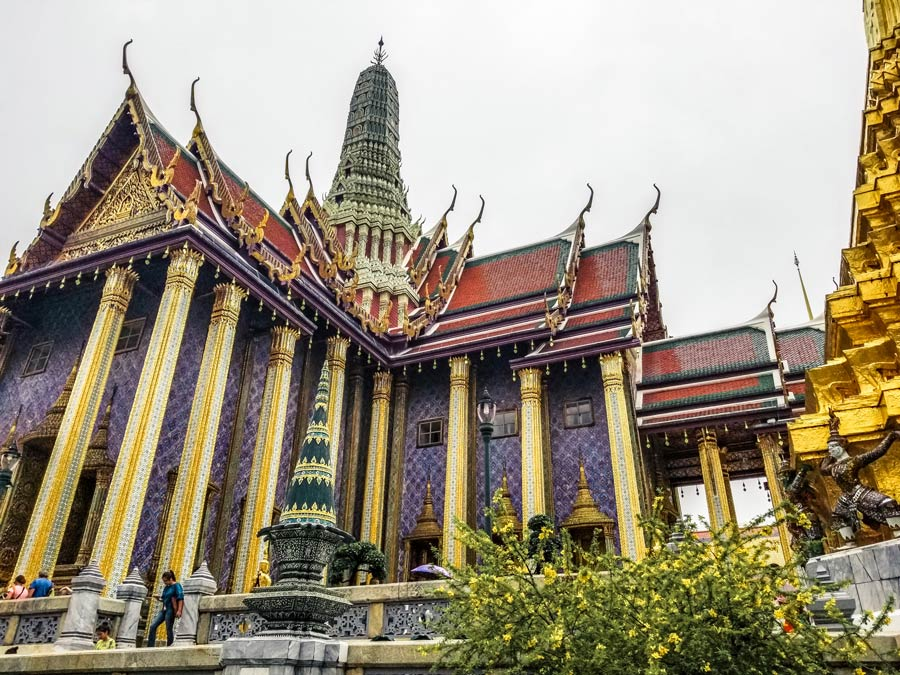 The Grand Palace in Bangkok is a top temple in Thailand