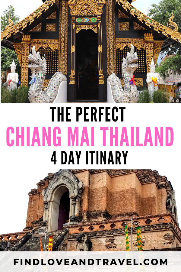 Ultimate Chiang Mai itinerary in 4 days