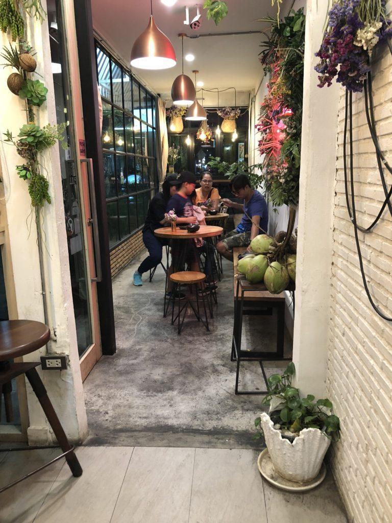 Cute icecream cafe in chiang mai thailand