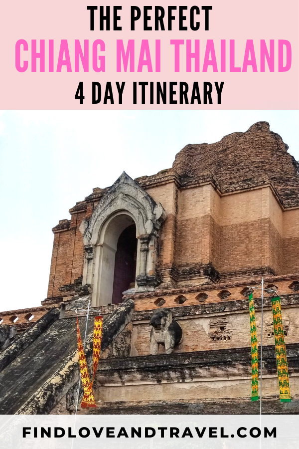 4 day guide to Chiang Mai Thailand