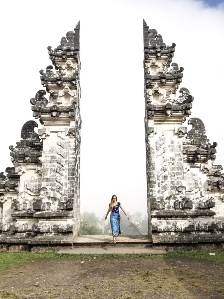 Gates to heaven in Bali Indonesia