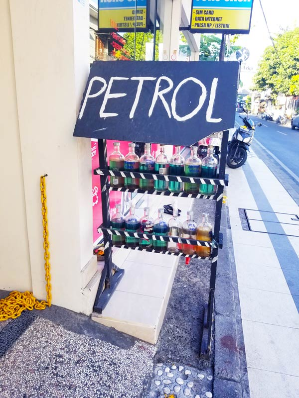 How to get Petrol in Bali