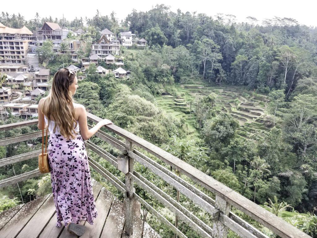 Bali Pulina Coffee Plantation lookout Ubud Bali