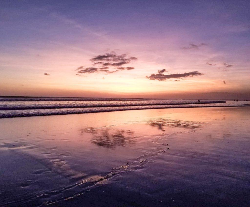 Sunset at Double Six Beach, Seminyak, Bali Guide