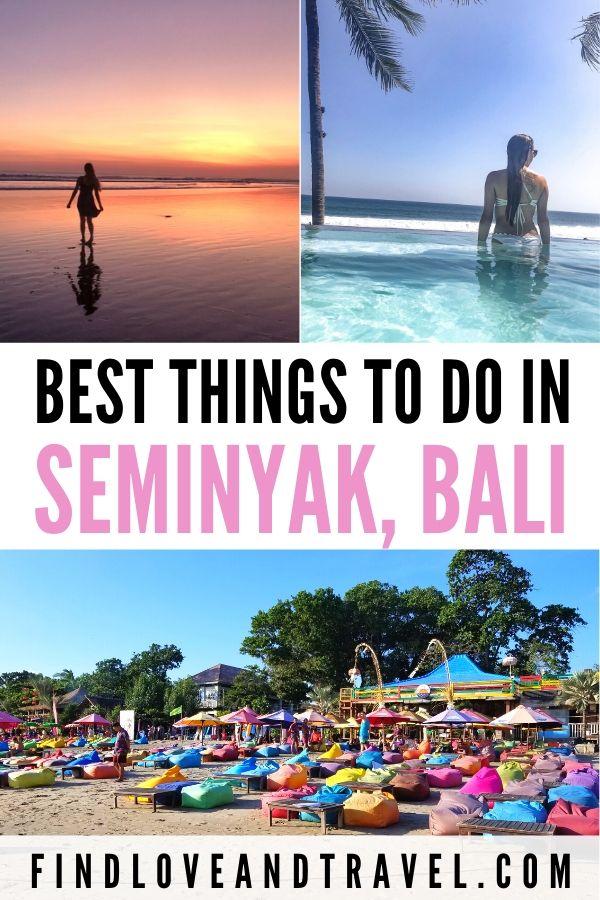 Best things to do in Seminyak Bali