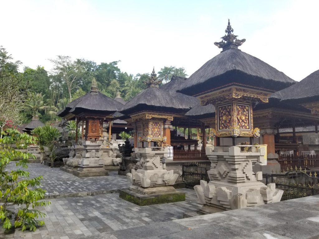 Tirta Empul temple stones