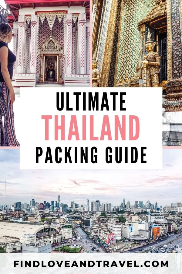Ultimate Thailand Packing Guide