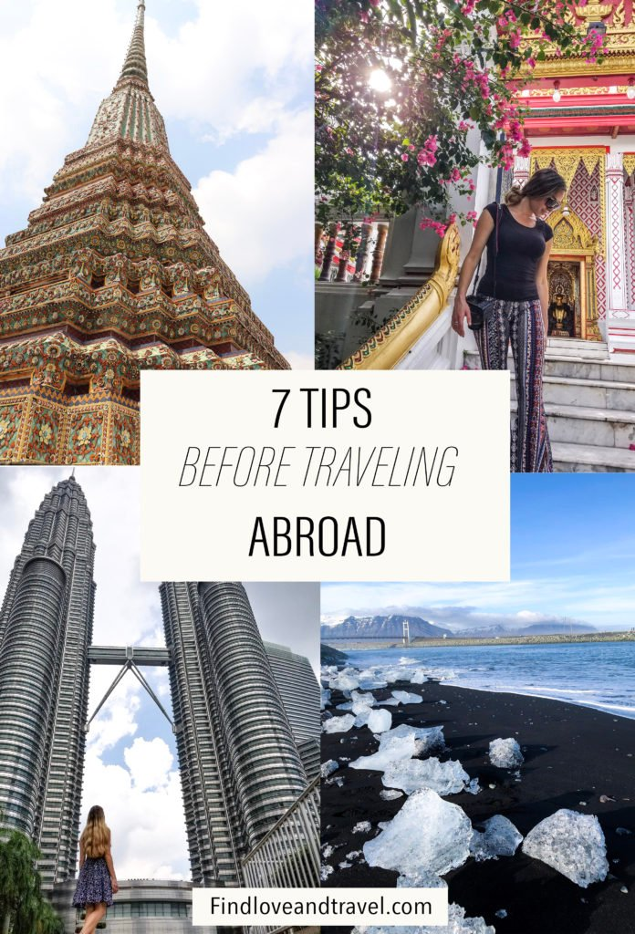 7 tips you should know before traveling abroad
