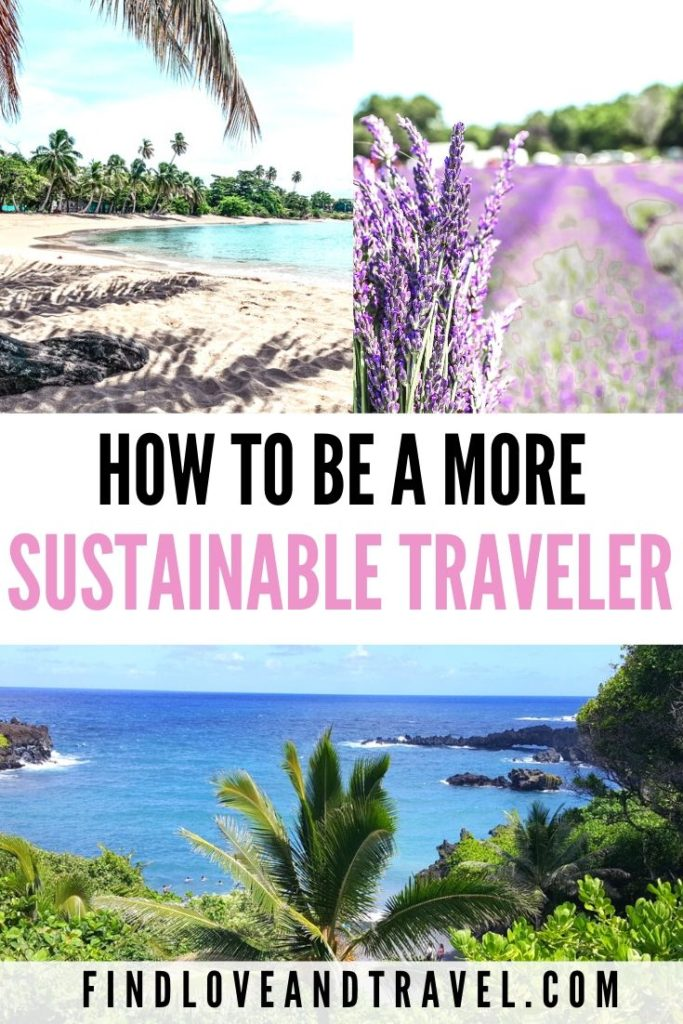 Eco-friendly travel hacks you can incorporate to be a more sustainable traveler!