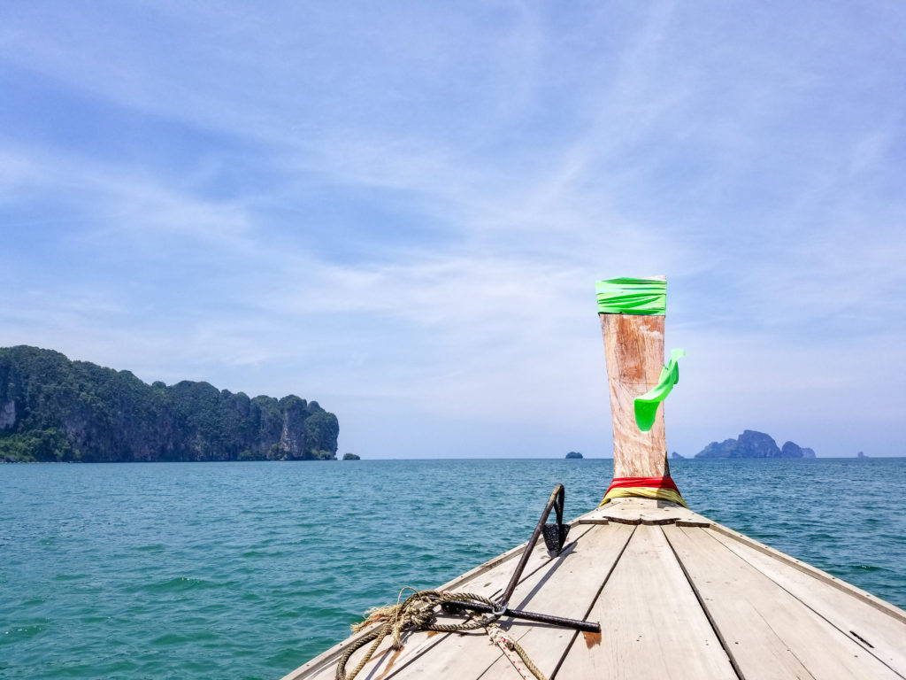 Add a ride in a long tail boat to your 4 day Krabi Itinerary