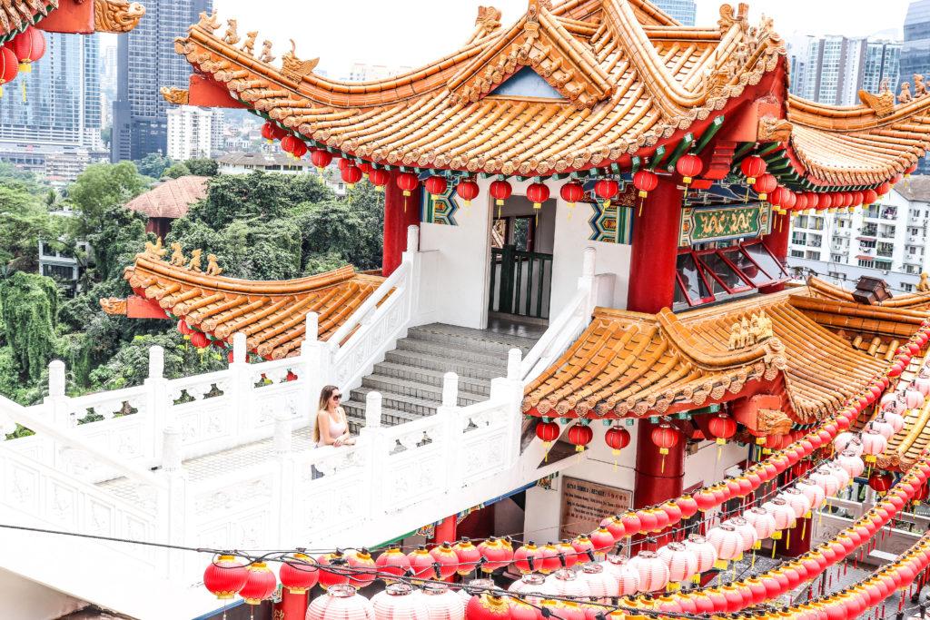Thean Hou Temple Kuala Lumpur Malaysia