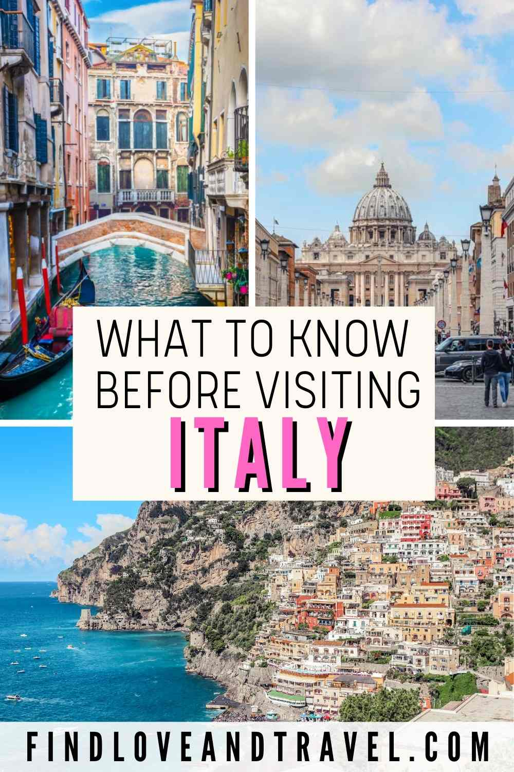 Essential Things to Know Before Traveling to Italy   Find Love ...