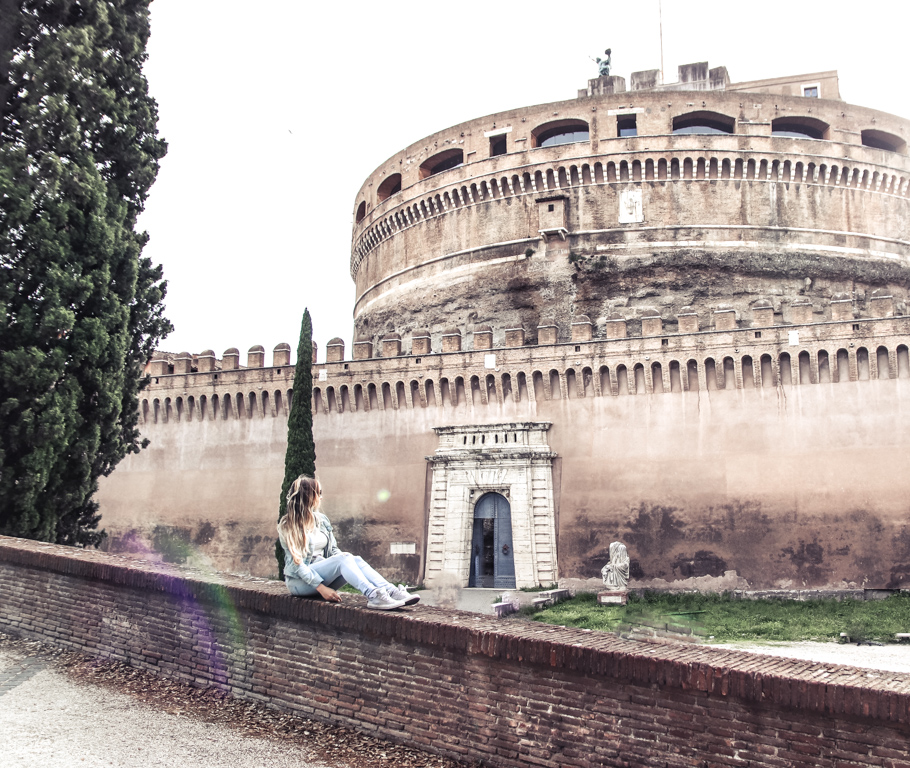 Castel Sant'Angelo with 4 days in Rome